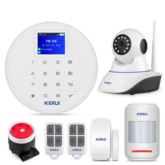 Motion Detector GSM Security Alarm System