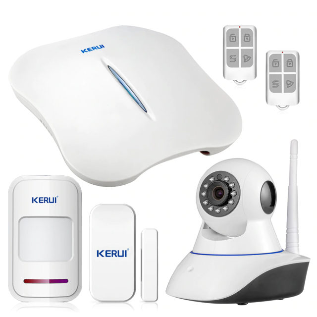 Wireless Home WIFI Security Remote Control System