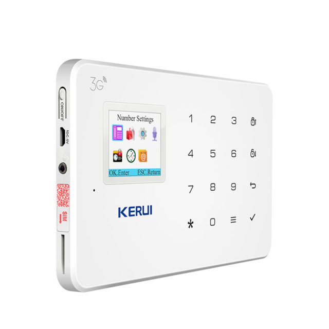 Wireless Home 3G Security Alarm System